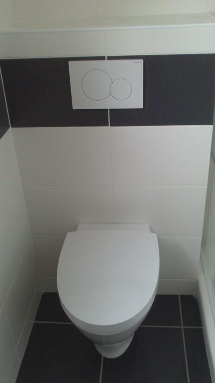 Adh morbihan salle de bain avec toilettes la trinit for Toilette sous pente
